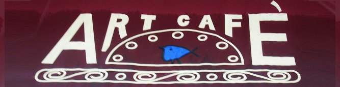 art cafe nyack sign