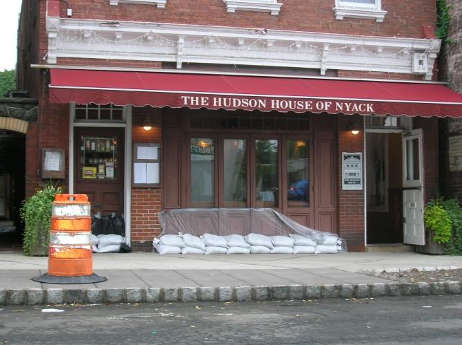 hudson house nyack sandbags