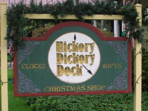 hickory dickory dock sign nyack