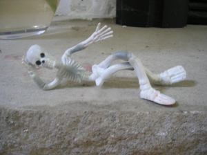 stretchy skeleten sexy