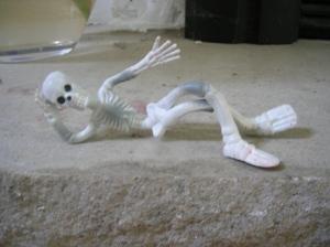 stretchy skeleten sexy