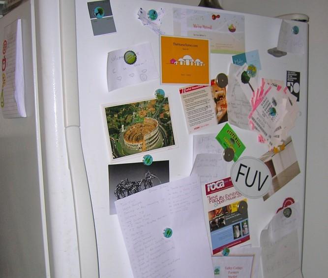 Home Tome Refrigerator Magnet 2