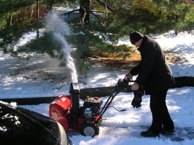 new snow blower