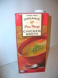 Trader Joe's Organic Free Range Chicken Broth