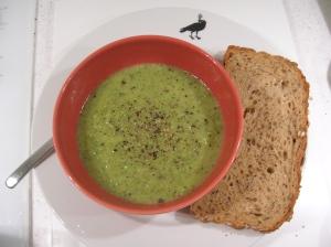 broccoli and leek soup