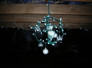 Holiday Chandelier Wire