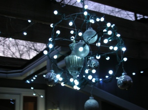 Holiday Chandelier 2