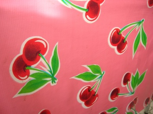 Lulu's Cafe tablecloth 1