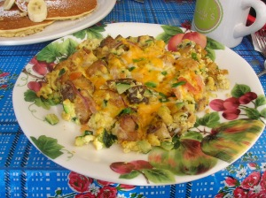 Lulu's Cafe Farmer's Scramble