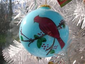 Cardinal Ornament 2