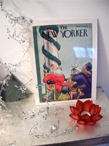 New Yorker Santa Cover