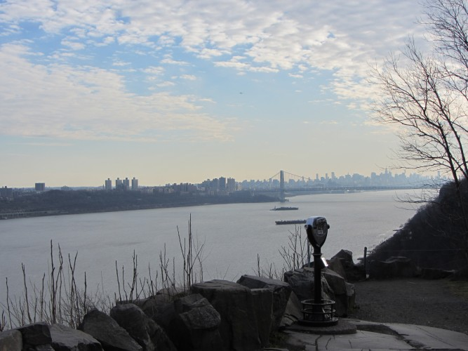 view from Palisades