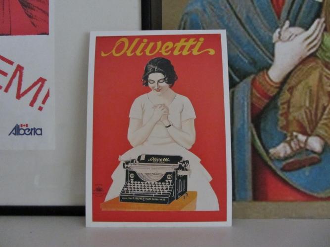 Olivetti Postcard