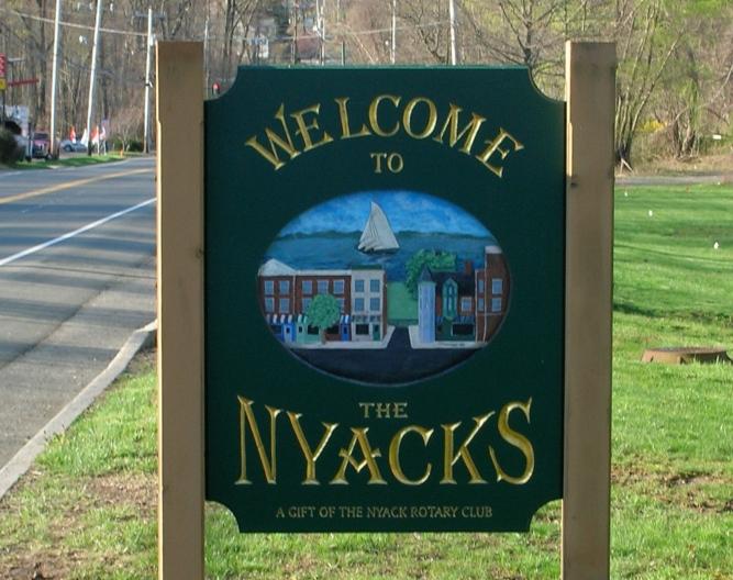 Nyack sign