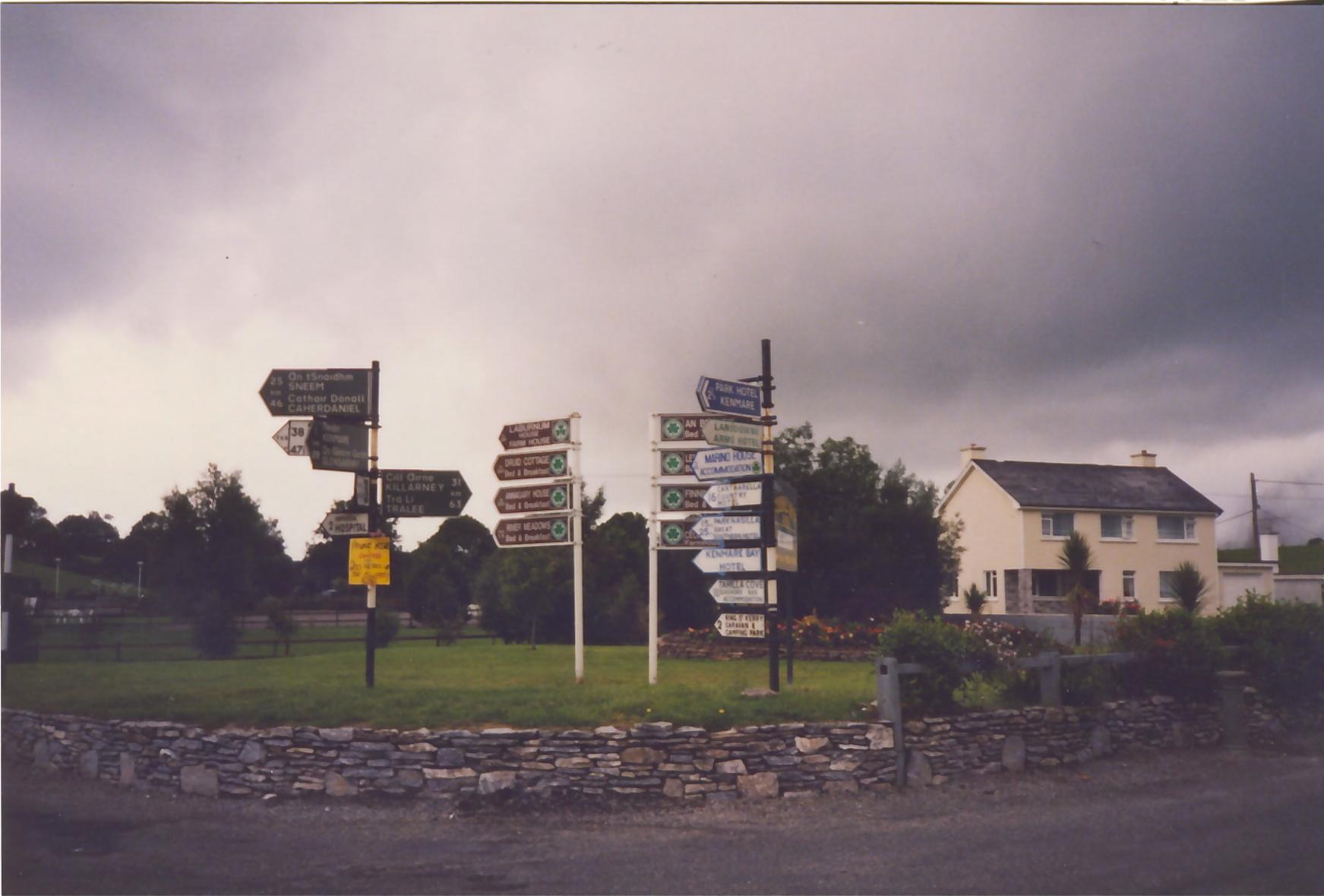 signage ireland