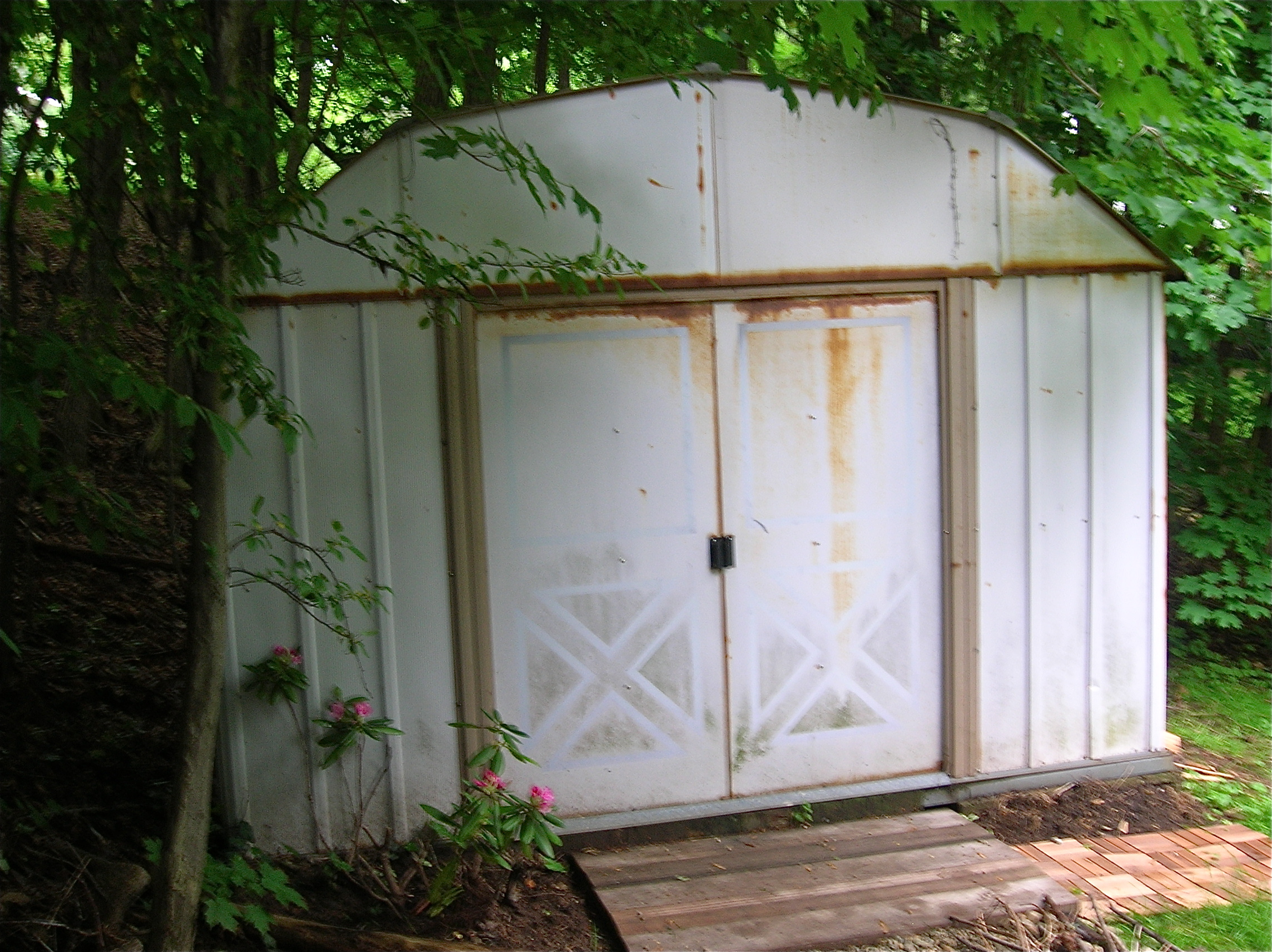 Diy Shed Rusty To Rustic THE HOME TOME