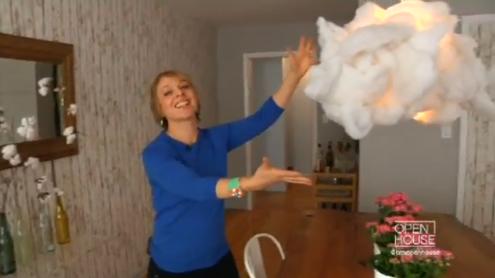 jill vegas cloud light fixture - Cloud Lamp Diy