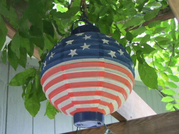 flag lantern
