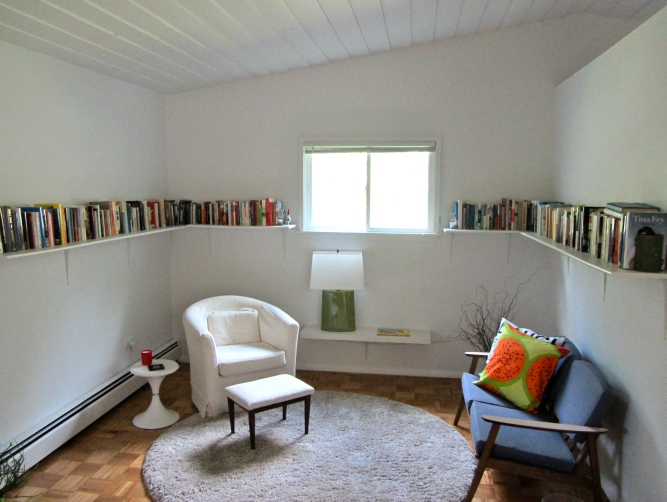 library book nook