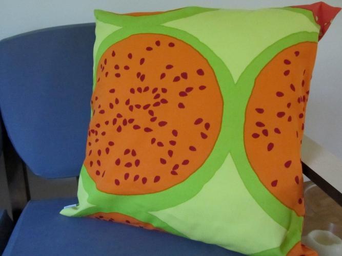 Marimekko Citrus pillow
