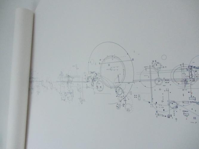 Robert Strati digital print close up