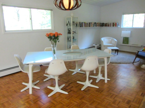 Burke Inc Chairs in dining room