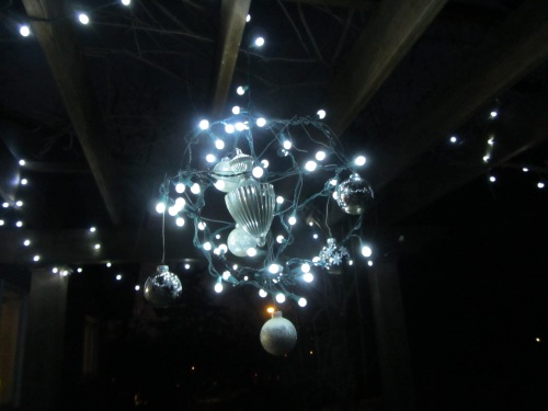 ornament chandelier pergola