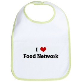 i love food network bib
