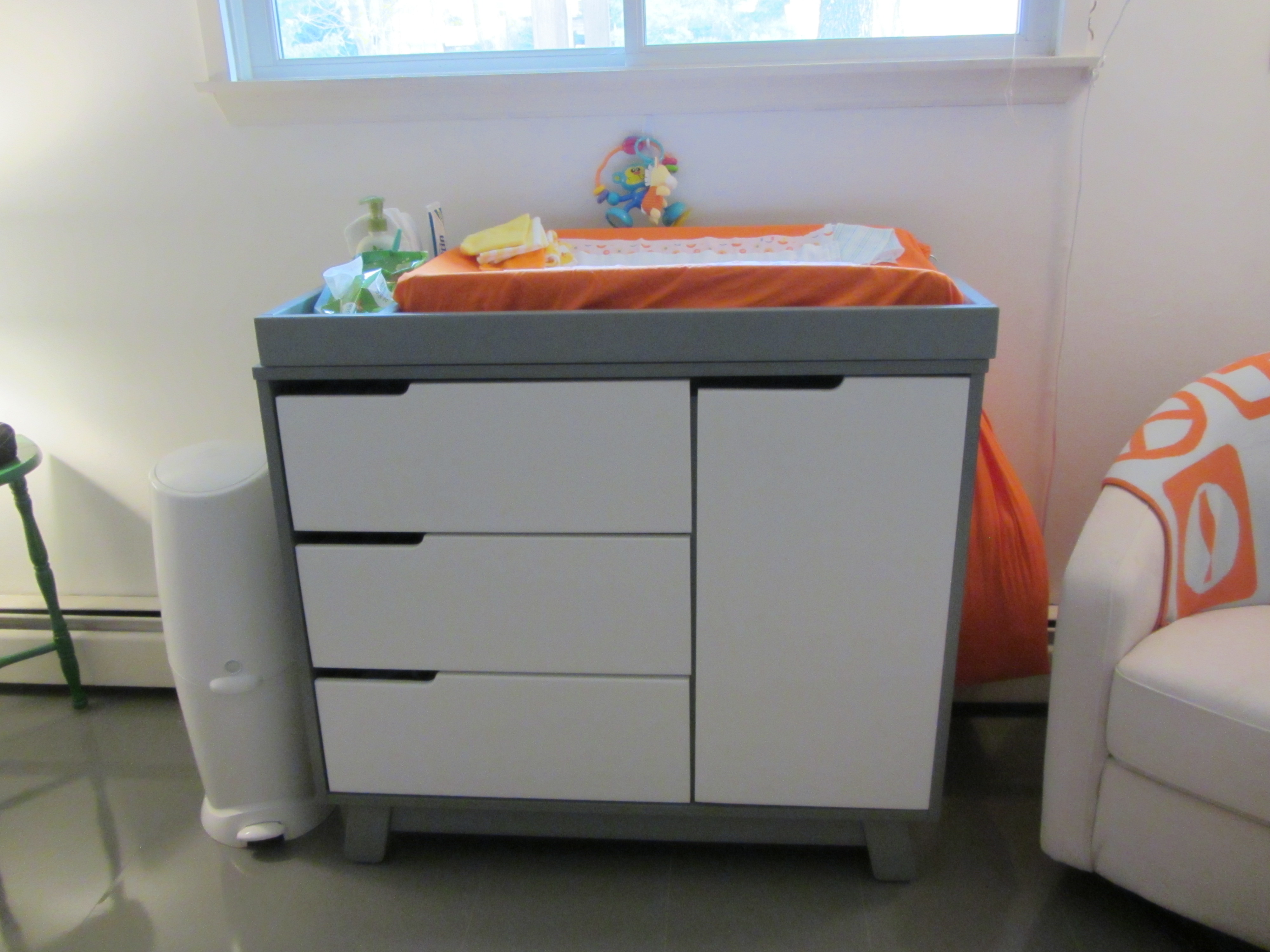 babyletto hudson crib and changing table  creative ideas of baby  - babyletto hudson changer dresser espressowhite