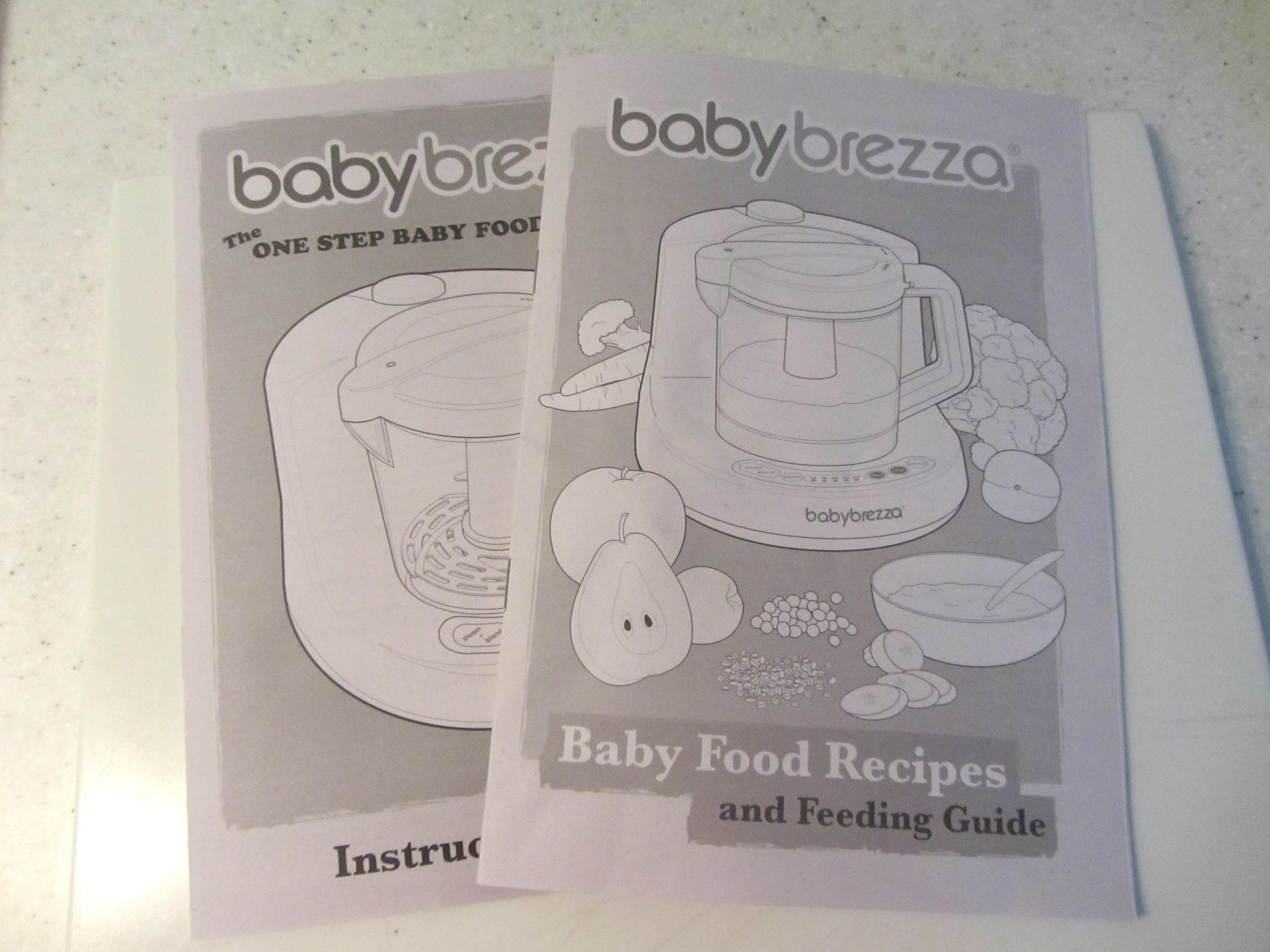 baby brezza instruction manual