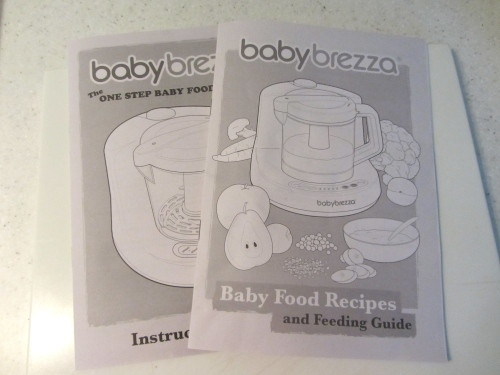 Baby Brezza Instructions