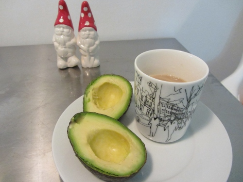 coffee and avocado