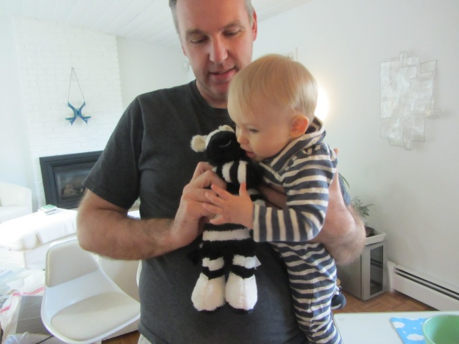 Lambs & Ivy Zebra