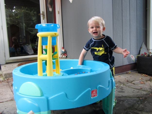water table happy