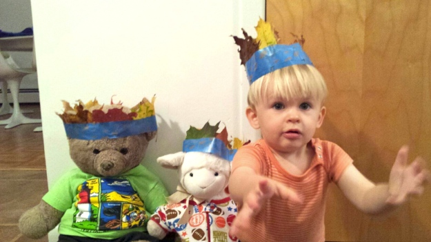 leaf crown toddler stuffed animals