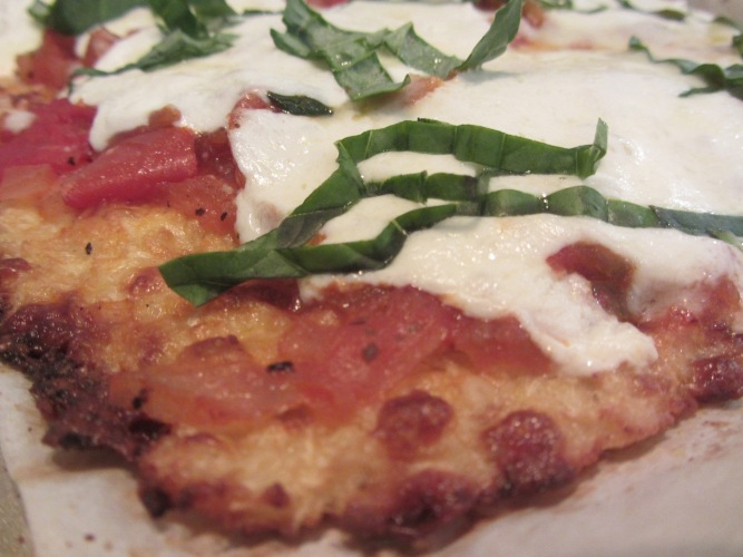 cauliflower pizza crust 2