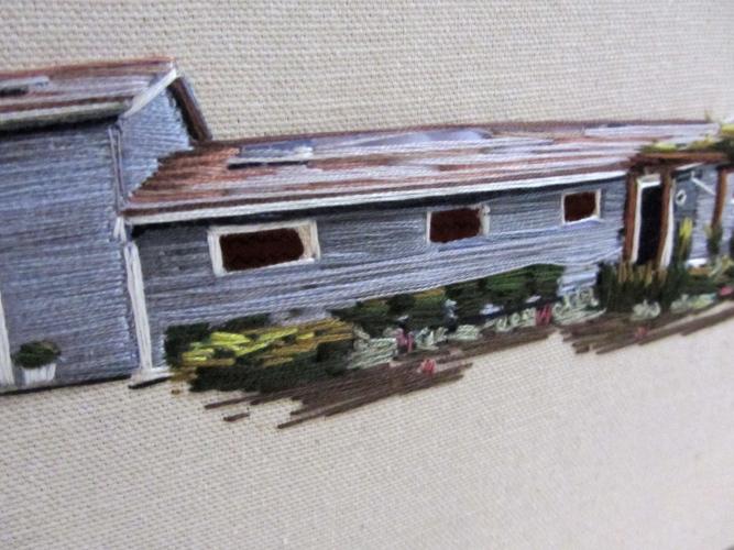 house embroidered by Stephanie K. Clark 3
