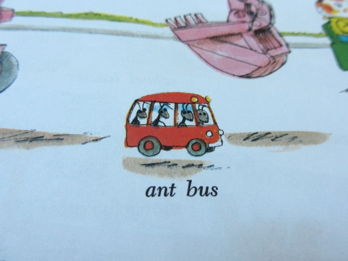 Ant Bus Richard Scarry