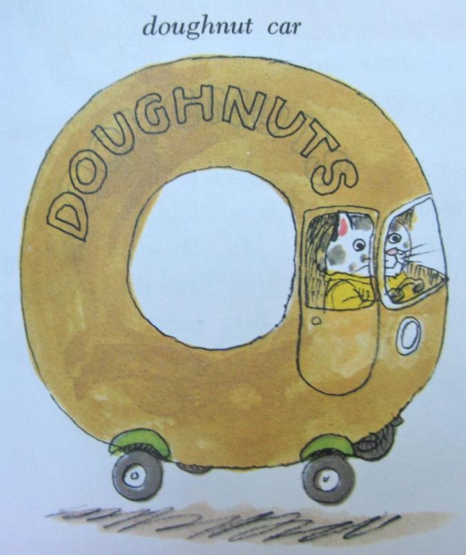 Doughnut Car Richard Scarry