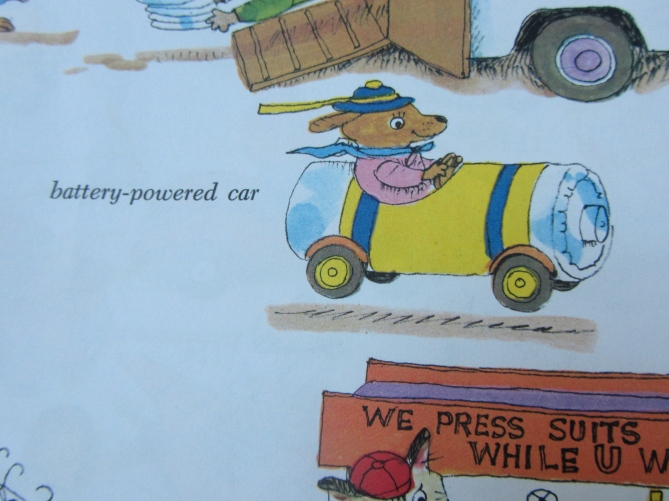 Battery Powered Car Richard Scarry