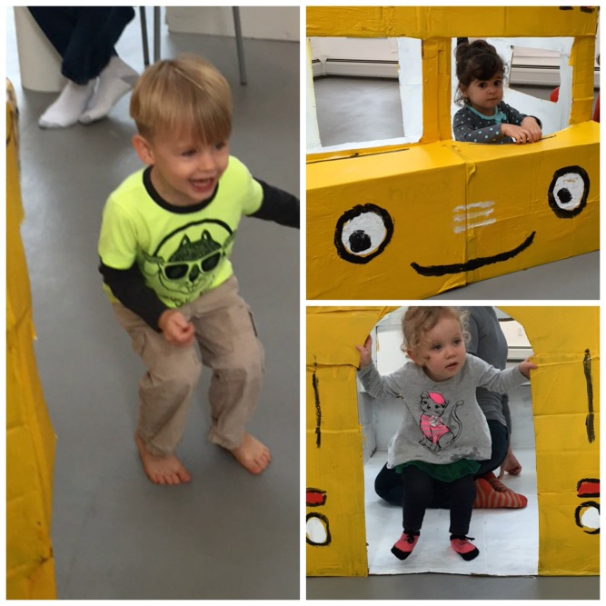 cardboard school bus 3
